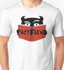 The Fact Fiend Logo - By Artists Unknown Unisex T-Shirt