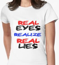 Real Eyes Women's Fitted T-Shirt