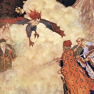 Three Men of SIn - The Tempest - Edmund Dulac by forgottenbeauty