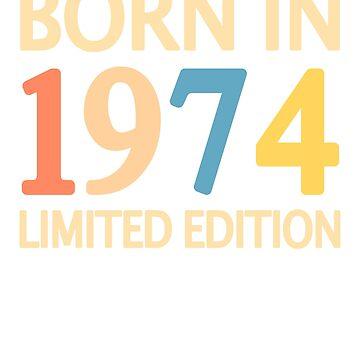 1974 birthday vintage retro by Mmastert