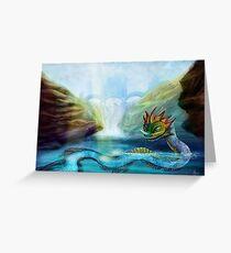Fantasy Monster Greeting Card