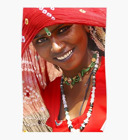 A Gypsy Girl from Rajasthan Poster