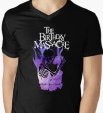 The Birthday Massacre T Shirt Mit V Ausschnitt Fur Manner