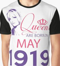 It's My Birthday 99. Made In May 1919. 1919 Gift Ideas. Graphic T-Shirt