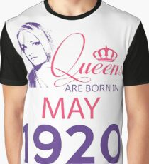 It's My Birthday 98. Made In May 1920. 1920 Gift Ideas. Graphic T-Shirt
