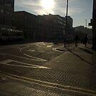 City day sunrise by alexandra jordan