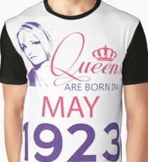It's My Birthday 95. Made In May 1923. 1923 Gift Ideas. Graphic T-Shirt