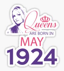 It's My Birthday 94. Made In May 1924. 1924 Gift Ideas. Sticker