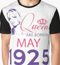 It's My Birthday 93. Made In May 1925. 1925 Gift Ideas. Graphic T-Shirt