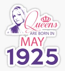 It's My Birthday 93. Made In May 1925. 1925 Gift Ideas. Sticker