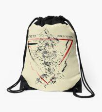 2nd Runner Orbital Frame Jehuty Drawstring Bag