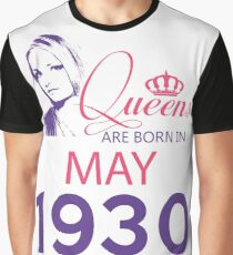 It's My Birthday 88. Made In May 1930. 1930 Gift Ideas. Graphic T-Shirt