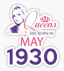 It's My Birthday 88. Made In May 1930. 1930 Gift Ideas. Sticker