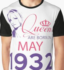 It's My Birthday 86. Made In May 1932. 1932 Gift Ideas. Graphic T-Shirt