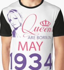It's My Birthday 84. Made In May 1934. 1934 Gift Ideas. Graphic T-Shirt