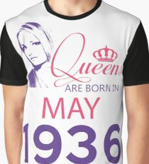 It's My Birthday 82. Made In May 1936. 1936 Gift Ideas. Graphic T-Shirt