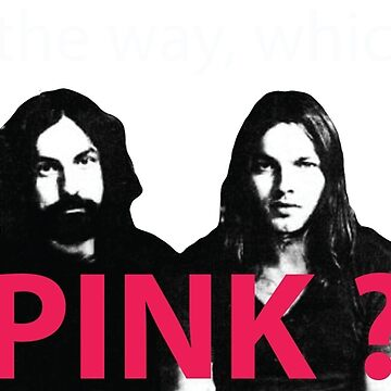 Pink Floyd - Which one's Pink? [White Font] by ashikshrestha