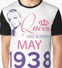It's My Birthday 80. Made In May 1938. 1938 Gift Ideas. Graphic T-Shirt