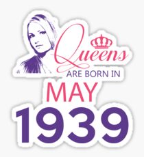 It's My Birthday 79. Made In May 1939. 1939 Gift Ideas. Sticker