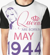 It's My Birthday 74. Made In May 1944. 1944 Gift Ideas. Graphic T-Shirt