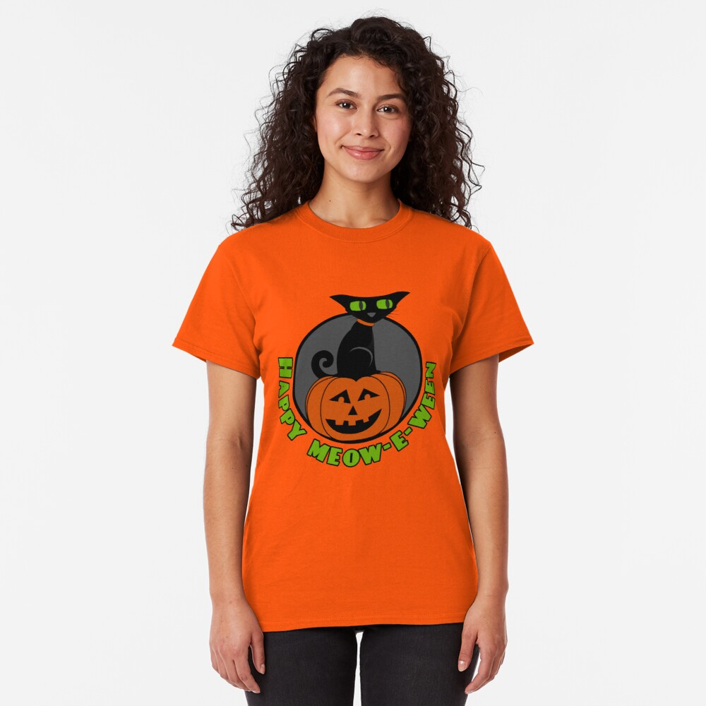 Midnight - Happy Meow-e-ween Classic T-Shirt