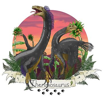 Theriznosaurus 'Dinos You Never Knew About' by LukeMartinsArt