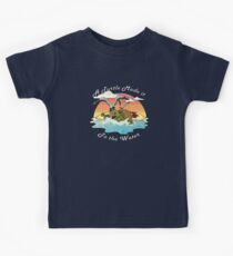 A Turtle Made it to the Water! Kids Tee