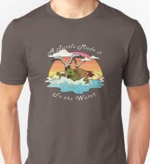 A Turtle Made it to the Water! Unisex T-Shirt