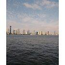 #skyline, #city, #water, #buildings, #urban, #sky, #architecture, #cityscape, #building, #skyscraper, #newyork, #downtown, #manhattan, #blue, #panorama, #river, #view, #usa, #skyscrapers by znamenski