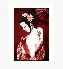 Geisha Impression artistique