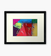 Trapeze Artists Framed Print
