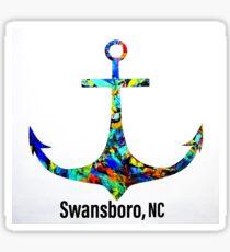 Swansboro NC Anchor  Sticker