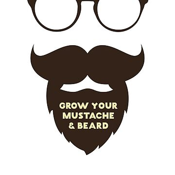 Movember grow your mustache for a good cause by Lunaco