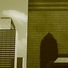 Dallas Reflections in Sepia by Susan Russell