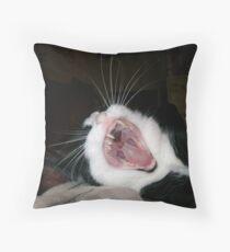Fangs a Lot! Throw Pillow