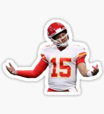 03779b9a2ef Patrick Mahomes Chiefs Stickers | Redbubble