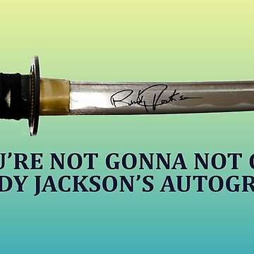 Step Brothers - Randy Jackson's Autograph by BerksGraphics