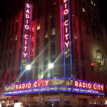 David Gilmour Sold Out Radio City Music Hall by GentryRacing