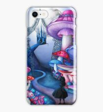 Alice Gates to Wonderland iPhone Case/Skin