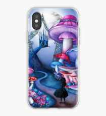 Alice Gates to Wonderland iPhone Case
