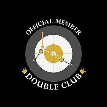 "The ""Double Club"" - White Text by itscurling"