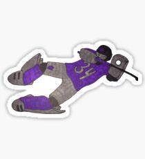 Field Hockey goalie Sticker