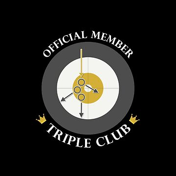 "The ""Triple Club"" - White Text by itscurling"