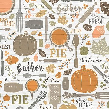 Sing for Your Supper THANKSGIVING // Gather Round & Give Thanks - A Fall Festival of Food, Fun, Family, Friends, and PIE! by ZirkusDesign