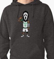 Simple -Scary- Cool -terry- Pullover Hoodie