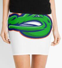 Alligator Head Mascot Mini Skirt