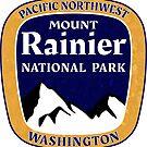 Mount Rainier National Park Washington Pacific Northwest by MyHandmadeSigns