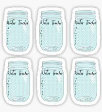 Bullet Journal Water Tracker Sticker