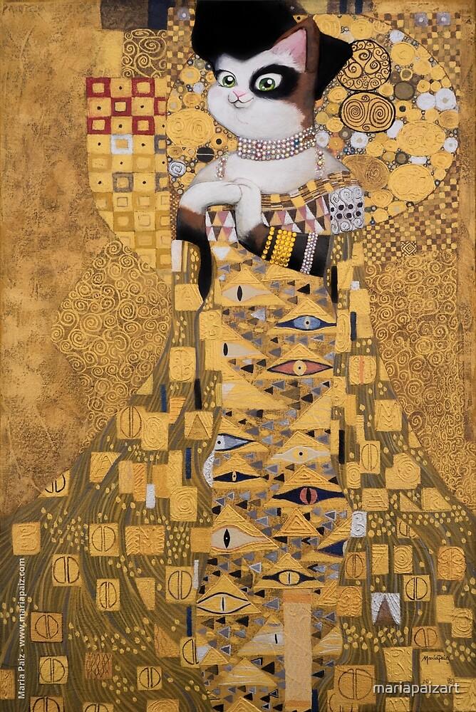 #meowdernart - The Portrait of Adele Bloch-Meower by mariapaizart