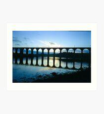 Across The River Tweed Art Print